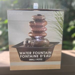 Small water fountain